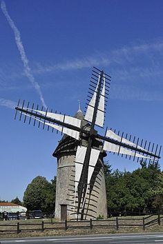 Moulin du mont des Alouettes : Vendée, France