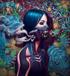 Tora Portrait by AdrianDadich on DeviantArt