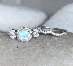 moonstone ring - Google Search