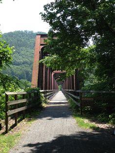 The New River Trail, Galax, VA