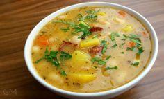 Fazolová polévka s pikantní klobásou