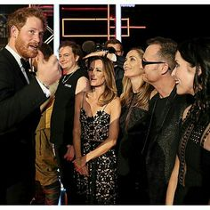 The lovely Corrs meeting Prince Harry! He must be funny right? @sharoncorrofficial @carolinecorrofficial @andreacorrofficial @jim_corr #thecorrs #whitelight #whitelighttour #music #musicians #singer #songwriter #acoustic #travel #andreacorr #carolinecorr #sharoncorr #jimcorr #irish #family #band #ireland #celtic #traditional #piano #guitar #drums #drummer #tinwhistle #violin #sister #brother #princeharry