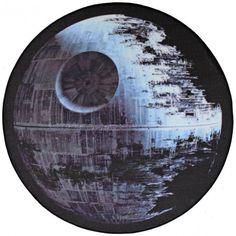 Star Wars Teppich Todesstern 100cm rund sw-27 Kinderteppich Spielteppich Lego