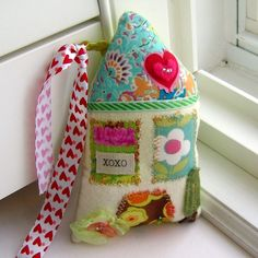 Fabric Home Decoration, Door Hanger, Ornament - Little House of Love