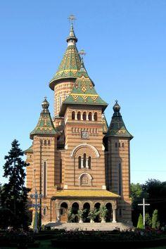 Timisoara, Romania  Timisoara Orthodox Cathedral