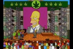"""When Homer is stoned and talks to Ned Flanders he cites his own example of the Omnipotence paradox: """"Could Jesus microwave a burrito so hot that he himself could not eat it?"""""""