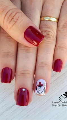 (notitle) The post appeared first on Berable. Essie Nail Polish, Nail Polish Colors, Sexy Nails, Toe Nails, Colorful Nail Designs, Nail Art Designs, November Nails, Short Gel Nails, Beauty Nails