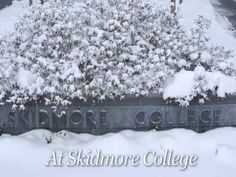 Happy Holidays from Skidmore College! Let us know what you think about our fun holiday video!