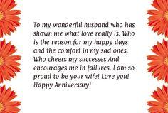 Anniversary Wish to My Husband   Related Pictures happy anniversary to my husband funny card