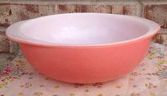 Vintage Pyrex Desert PINK - 024 - 2 quart casserole  on Etsy, $7.95