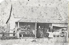Late 19th Century, Mrs Hickeys general store, Campbelltown, courtesy of the Campbelltown Library