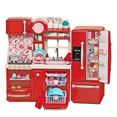Toy Kitchen Sets - Our Generation Gourmet Kitchen >>> You can get more details by clicking on the image.