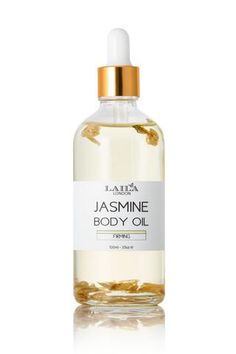 Jasmine Body Oil is a blend of pure, natural botanical oils that will leave skin soft and replenished.  Great for massage and reduce stretch marks.