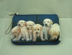 Dog Puppy Pet Golden Retriever Coin MP3 MP4 Bag Purse BAG137 NEW