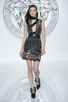 Women's fashion and accessories - FW 2013-14 - Fashion Show Collection - Versace 2013