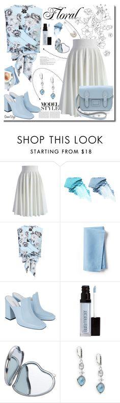 """Pale Blue"" by queenvirgo ❤ liked on Polyvore featuring Chicwish, NARS Cosmetics, Miss Selfridge, Frontgate, Dorateymur, Laura Mercier, Natico and Judith Jack"