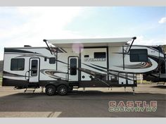 New 2017 Heartland Cyclone 3611JS Toy Hauler Fifth Wheel at Castle Country RV | Logan, UT | #331026