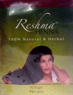 Marhaba Black Henna For Natural Black And Shiny Hair Front Henna