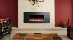 Studio Electric Verve Wall Mounted Fires (Graphite)