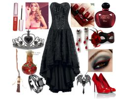 """""""Queen of the Damned"""" by lavonneb88 ❤ liked on Polyvore"""