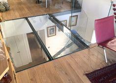Transformez votre maison avec le plancher en verre for Plancher mezzanine leroy merlin
