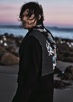 """Norman Reedus photographed by Carlos Serrao for Flaunt Magazine's Location Issue Norman Reedus, Andrew Lincoln, Mac Miller, The Cw, Flaunt Magazine, Emily Kinney, Rick Y, Fear The Walking Dead, Daryl Walking Dead"