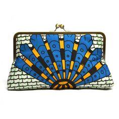 Clutch Purse Ankara clutch bag Afrocentric fashion by Urbanknit