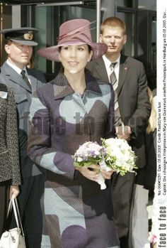 Opening of Danfoss Universe 5 May 2005  Mary's first official activity after the anouncement of her pregnancy was the opening of a scientific experience park with Frederik in Nordborg. The media coverage and public attention was huge.Also present were Mary's lady-in-waiting countess Victoria Bernstorff-Gyldensteen, prince Joachim and his ex wife countess Alexandra of Frederiksborg. Alexandra's activities would gradually become less.