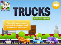 Got a car-crazy kid living under your roof?  You need to get the latest app from (multiple award-winning) developer Duck Duck Moose: http://bit.ly/IYfhIs