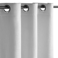 Nuite classic linen blackout curtain with eyelet header Am.Pm.  | La Redoute
