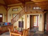 interior of cob home