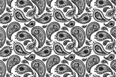 Textured paisley set 2 - Illustrations - 3