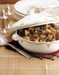 Stuffing is a popular holiday dish that typically contains bread—meaning it's a no-go for anyone eating gluten-free. Luckily, there's no shortage of delicious gluten-free stuffing ideas so you can enjoy this Thanksgiving staple. Swap in gluten-free bread to make a classic stuffing bursting with flavors like caramelized onion and herb poultry. You can also add more root vegetables, such as sweet potatoes, for a tasty and naturally sweet stuffing that's chock-full of ...