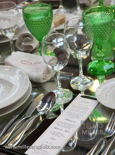 copos verdes vista alegre casamento - Pesquisa Google