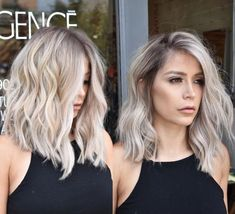 Golden Blonde Balayage for Straight Hair - Honey Blonde Hair Inspiration - The Trending Hairstyle Ash Blonde Hair, Beige Blonde, Long Bob Blonde, Long Wavy Bobs, Long Vs Short Hair, Dark Beige, Blonde Brunette, Dark Brown, Hair Color And Cut