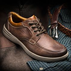 Walk the Line Between Casual Comfort and Classic Style With Johnston & Murphy Finesse!