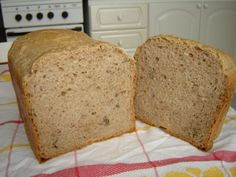 0165. špaldový chléb - recept pro domácí pekárnu