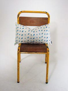 Deep+Turquoise+Blue+&+White+Spotty+Cushion, £8.00 polka dot dotty