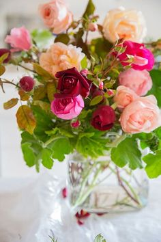Old-rose-bouquet