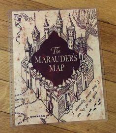 Front e Back Cover Set Harry Potter Mappa di SmallBoxofTreasures