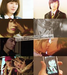 Boys Over Flowers-she's not only just a girl. she's the first girl i've loved since i was born. F4 Boys Over Flowers, Boys Before Flowers, Korean Celebrities, Korean Actors, Korean Dramas, Lee Min Ho, Gu Hye Sun, Geum Jan Di, Kdrama