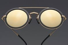 f1f19e35197 The latest work from the almost 50 year old Matsuda Eyewear company is  quite a showstopper. Classically round and very bold