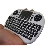 Henscoqi I8 2.4G Wirelesss Multi-Touch Mini Mouse and Keyboard for Android TV Box, PC, Pad, XBox 360, PS3, HTPC, IPTV (White) http://themarketplacespot.com/wp-content/uploads/2015/11/51mEraaWtOL-200x200.jpg   Features:  92 Russian keys, 2.4GHz wireless Keyboard with Touchpad. Touchpad DPI adjustable functions. Built-in high sensitive smart touchpad with 360-degree flip design. Mini QWERTY keyboard with multimedia control keys and PC gaming control keys. Auto sleep and auto wa