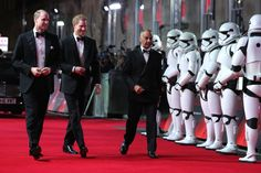 Secret Stormtroopers Unmasked William And Harry Join Their Star Wars Costars At London Premiere