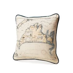 (Map pillow 2 of 2) Cool custom map pillow❣ (personalize) UncommonGoods
