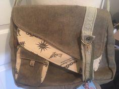 18325307c Details about Gooc.COM ECO Crossbody Hobo Travel Bag Purse Recycled Pense  Original NWT Gooc