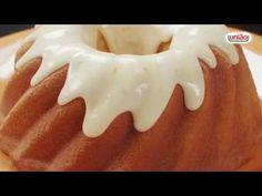 Receita | Cobertura de Glacê de Laranja - YouTube Donuts, Relleno, Baking, Outdoor Decor, Desserts, 30, Youtube, Meal Recipes, Sweet Recipes