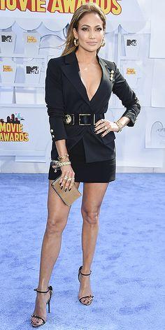 #JenniferLopez vestida de @versus por @versaceofficial