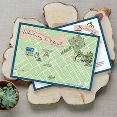 Custom Map, Lexington Kentucky Map, Wedding Map by Feathered Heart Prints, Lexington Kentucky Wedding Map