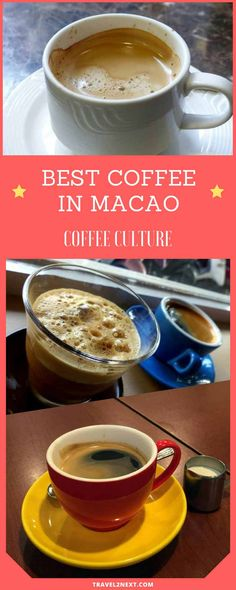 Coffee Culture – best coffee in Macau. 10 years ago it wasn't easy to find a real cup of coffee in Macau.